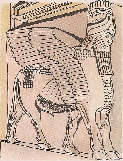 Асирски крилати бик