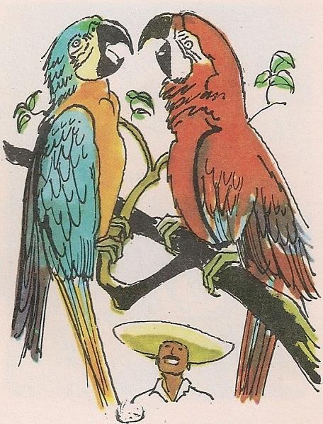 Брбљиви папагај