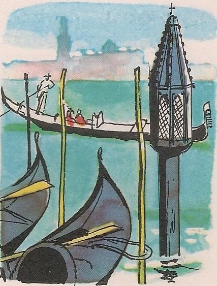 Венецијанске гондоле