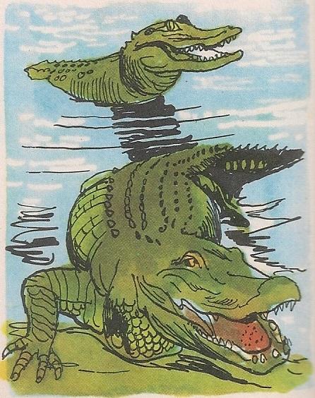 Опасни крокодил