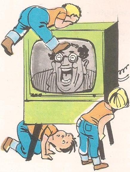 Где се налази телевизијски спикер?