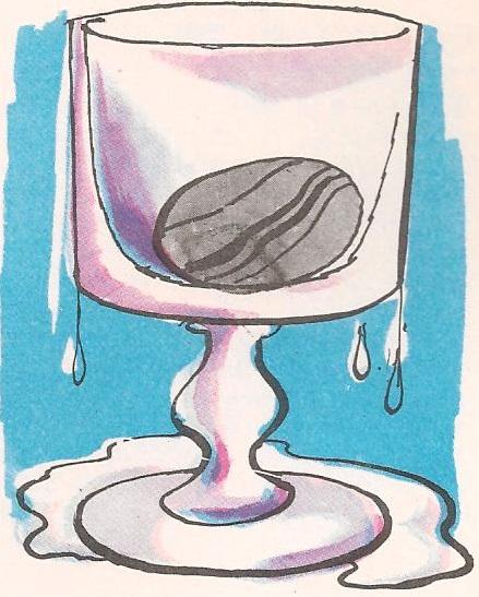 Зашто вода исцури кад убацимо каменчић?
