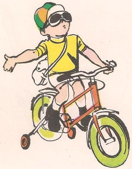 Зашто дечји бицикл има четири точка?