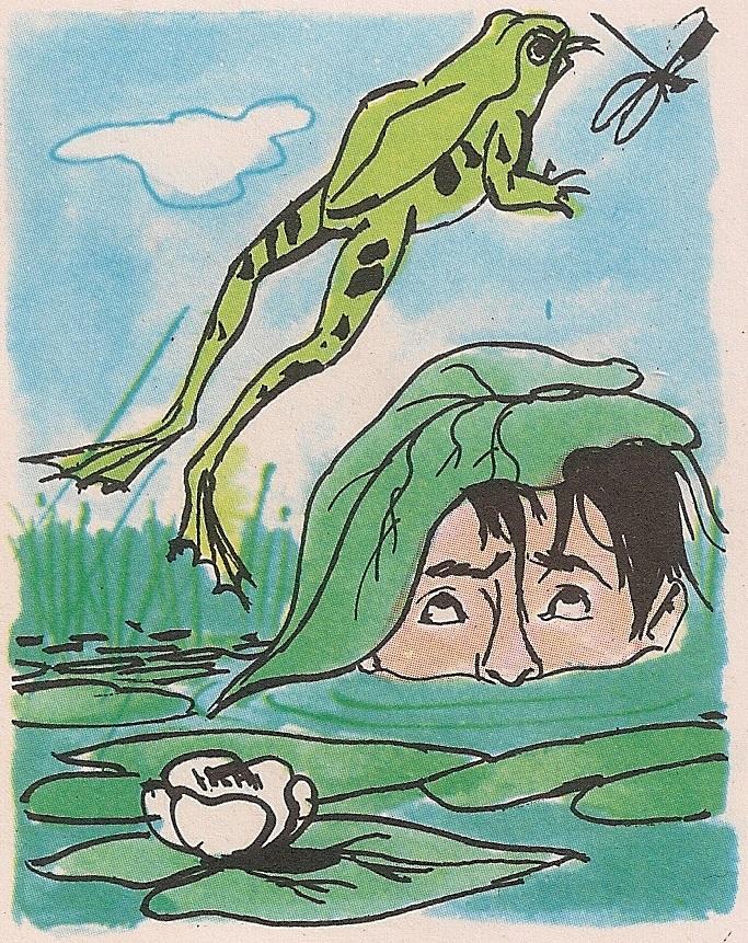 Зашто жабе скачу?