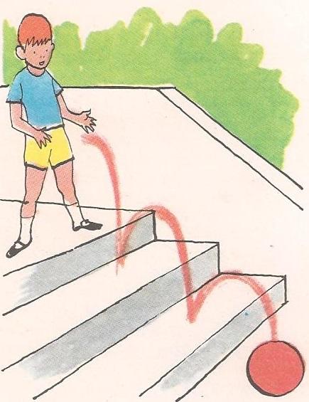 Зашто лопта пада на земљу?