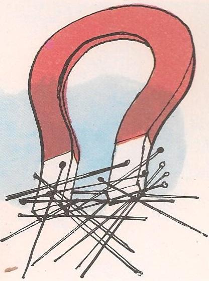 Зашто магнет привлачи чиоде?