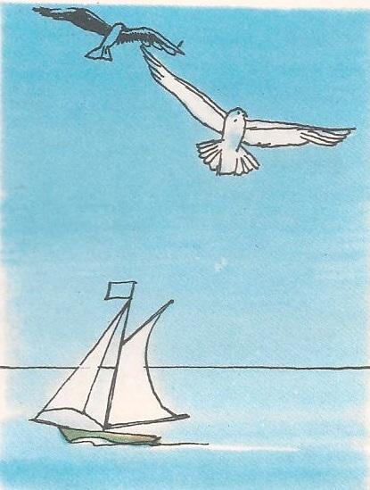 Зашто небо додирује море?