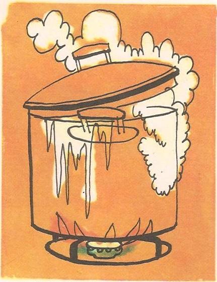 Зашто поклопац скакуће кад вода ври?