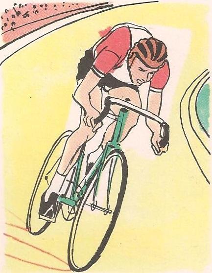 Зашто се бициклиста нагиње у кривини?