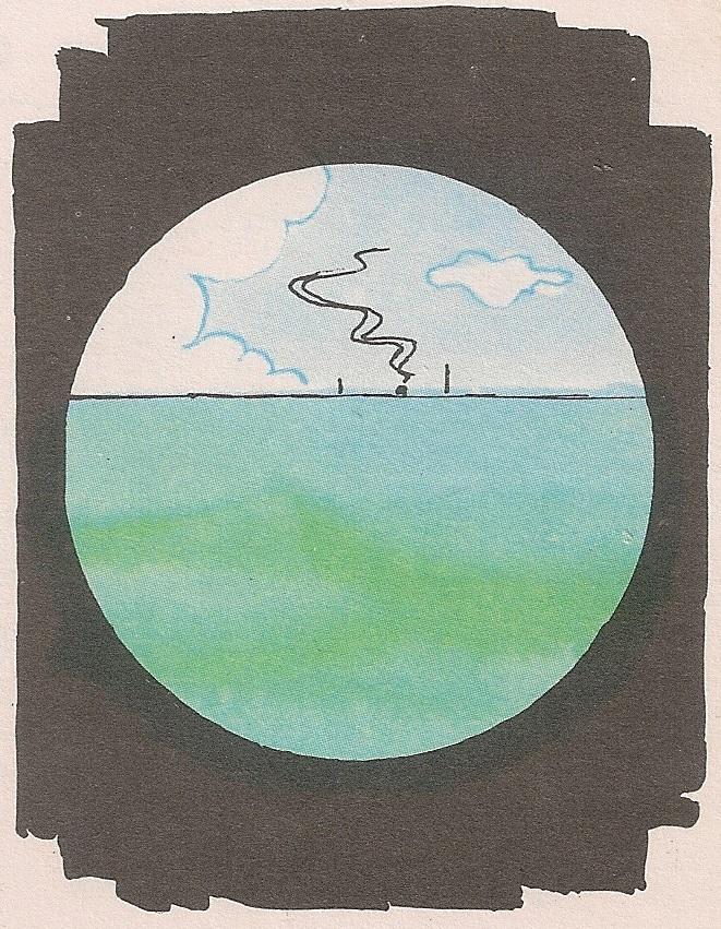 Зашто се види само катарка кад је брод далеко?