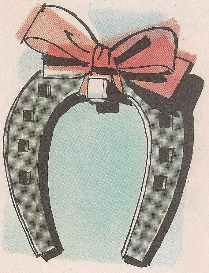 Потковица се сматрала срећним предметом само ако је нађена на путу и ако је била употребљавана.