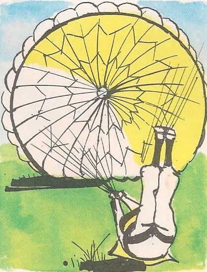 Зашто се падобранци не озледе кад падну?