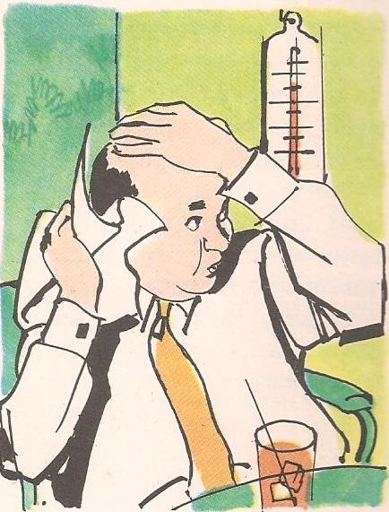 Зашто се термометар пење кад је топло?