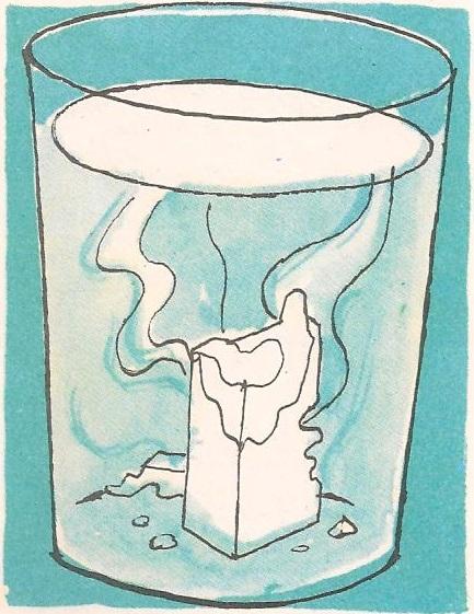 Зашто се шећер топи у води?