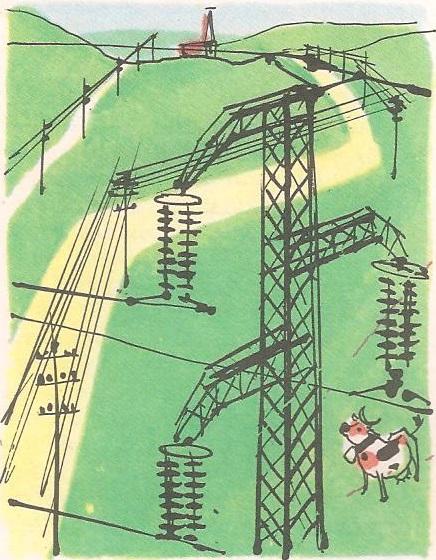 Зашто су електричне жице на стубовима?