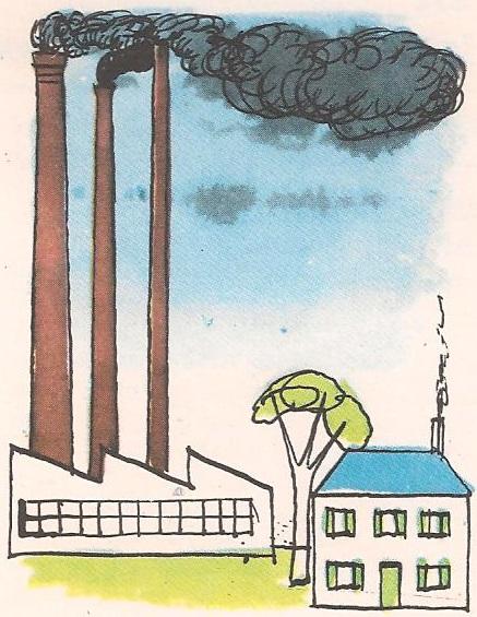 Зашто фабрике имају високе димњаке?