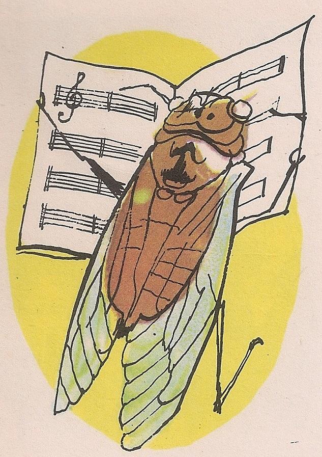Цврчак је инсект и нема гласа.