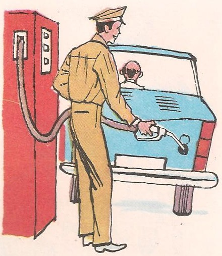 Зашто је аутомобилу потребан бензин?