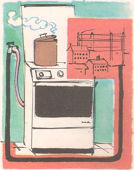Како гас доспева до штедњака?