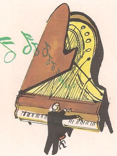 Како клавир свира?