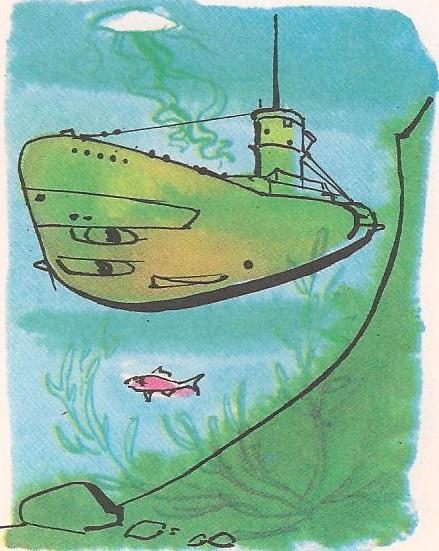 Како подморница зарони?