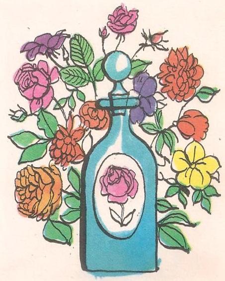 Како се нз цвећа узима мирис?