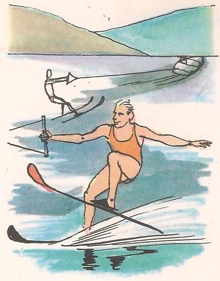 Како се одржава скијаш на води?
