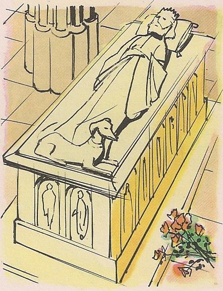 лежећа статуа