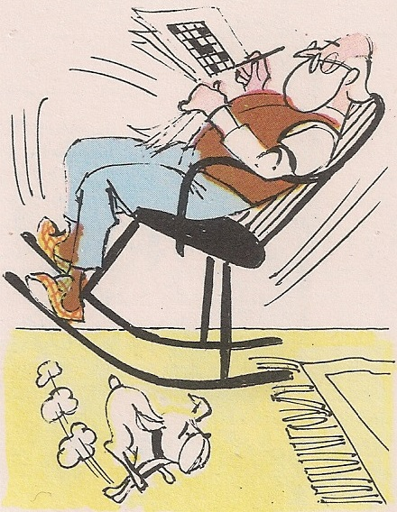 столица за љуљање